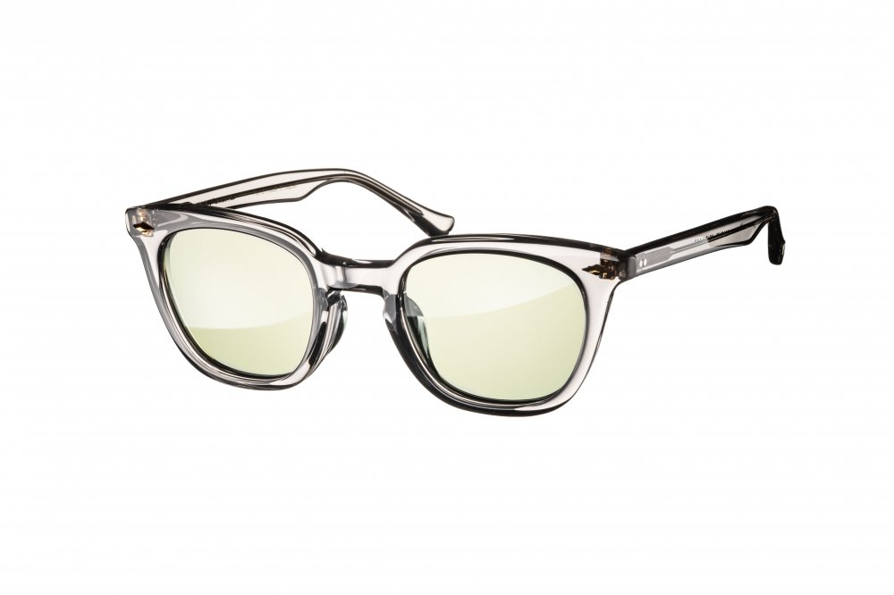 MERKEL gray clear / green lens