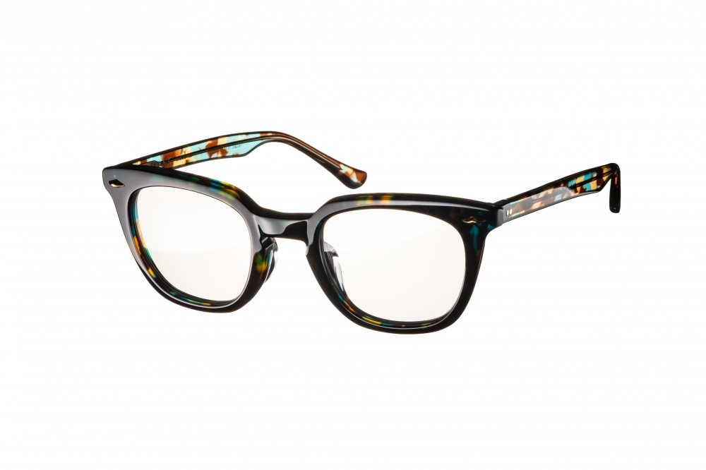 MERKEL emerald havana×clear / dimming lens