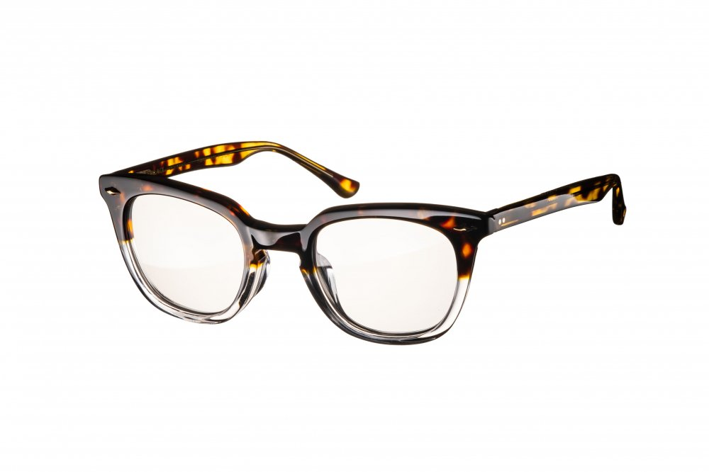 MERKEL brown glitter×clear / dimming lens