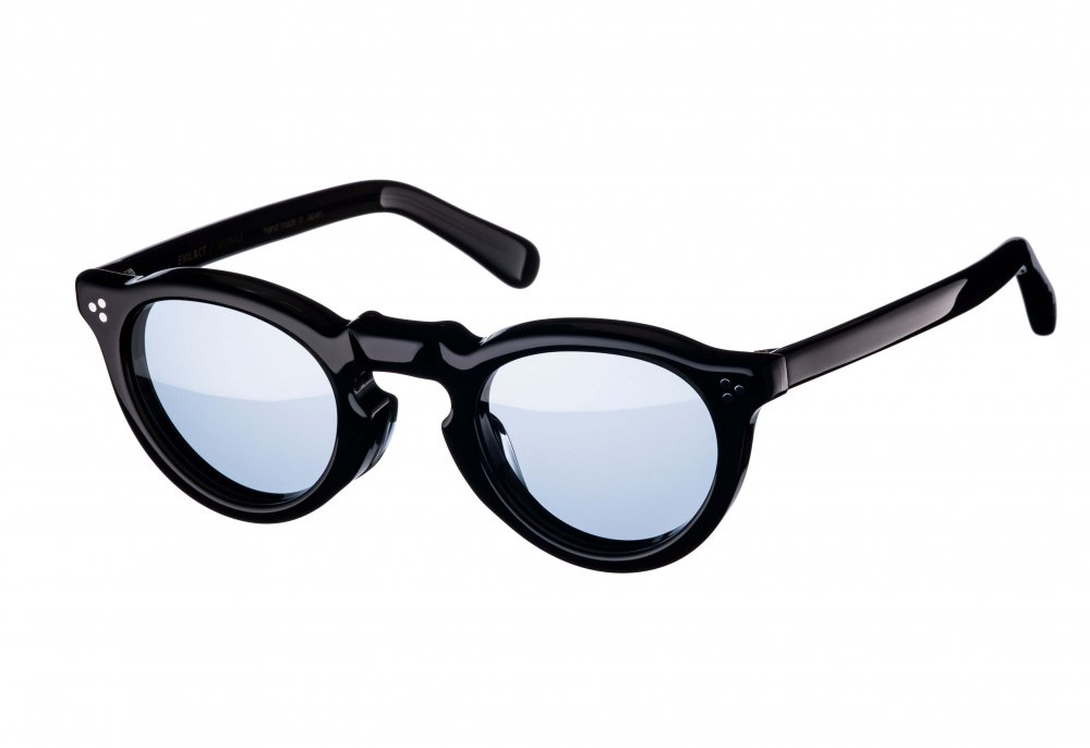 GREEVES clear black / blue lens