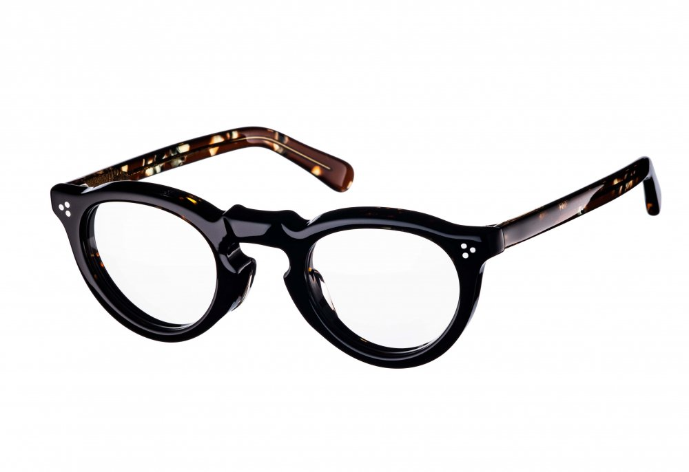 GREEVES coffee demi×antique clear / dimming lens