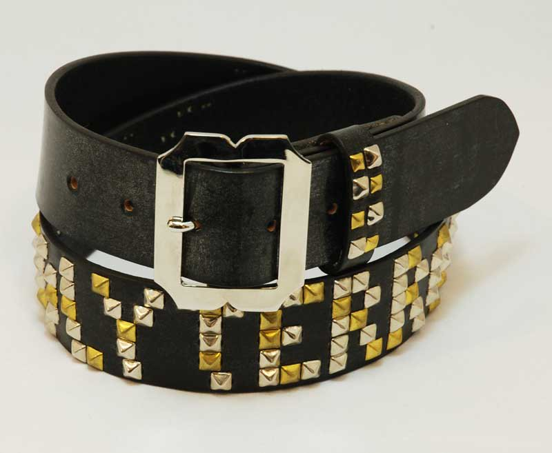 HANDOVE×HOLY TERRORS  Pyramid Studded belt