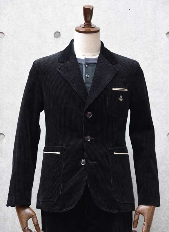 EVILACT CORDUROY JACKET<img class='new_mark_img2' src='//img.shop-pro.jp/img/new/icons16.gif' style='border:none;display:inline;margin:0px;padding:0px;width:auto;' />