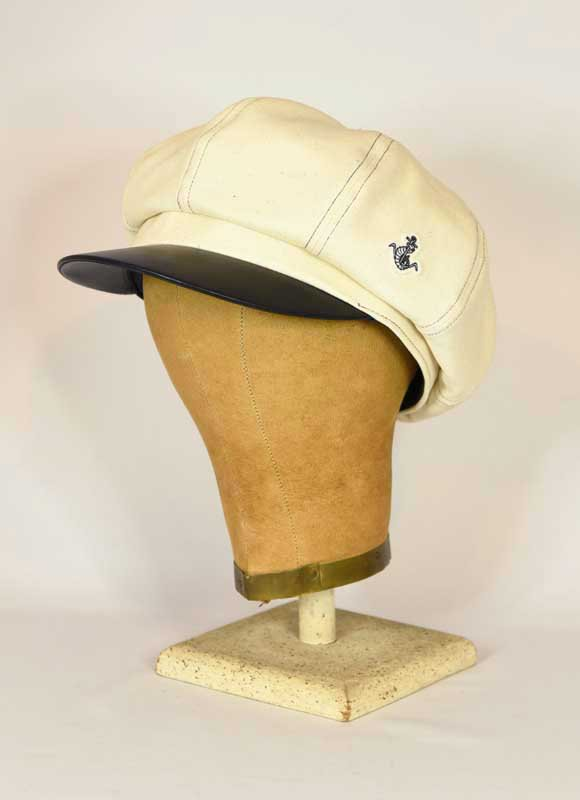 LEATHER VISOR CASQUETTE  MEMPHIS