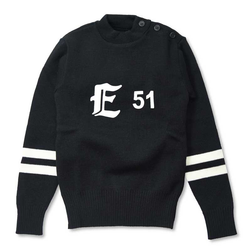 EVILACT High-neck wool sweater