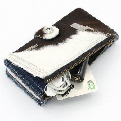 Apollo_cow,仔牛柄手帳型デニムiPhoneケースip19009