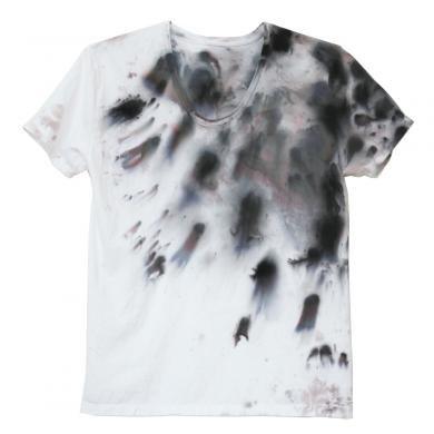 むら染めTシャツ(Men's L)t13099