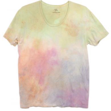 むら染めTシャツ(Men's XL)t13117