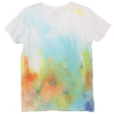 むら染めTシャツ(Mens S)t14003