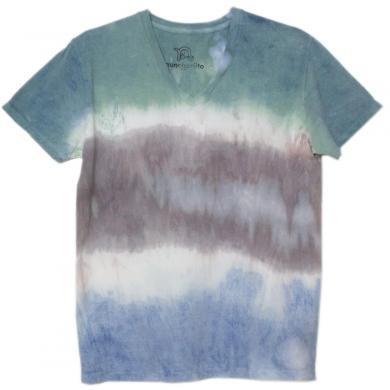 むら染めTシャツ(Mens M)t14006