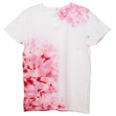 むら染めTシャツ(Mens M)t14009