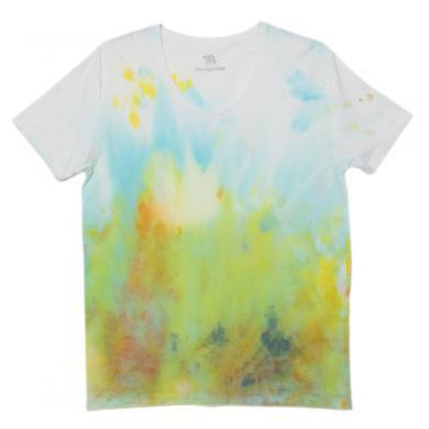 むら染めTシャツ(Mens M)t14004