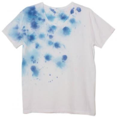 むら染めTシャツ(Mens M)t14007
