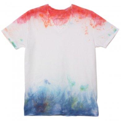 むら染めTシャツ(Mens M)t14008
