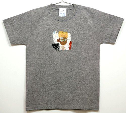 コラージュTシャツ(Ladys S)005