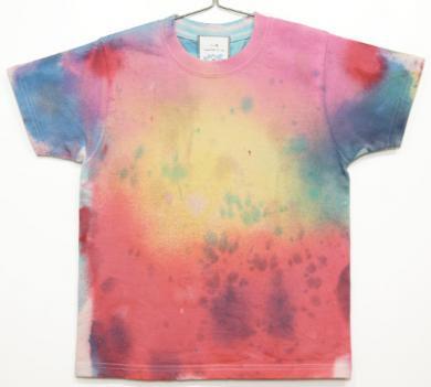 むら染めTシャツ(Kids 130)027