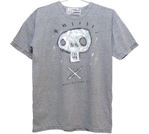 スカルグラフィティTシャツ(Mens S~L)061