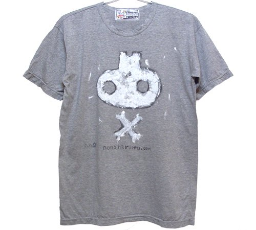 逆さスカルグラフィティTシャツ(Mens S~L)062