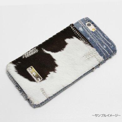 Taurus,仔牛柄×デニムiPhoneケースip15008_cow