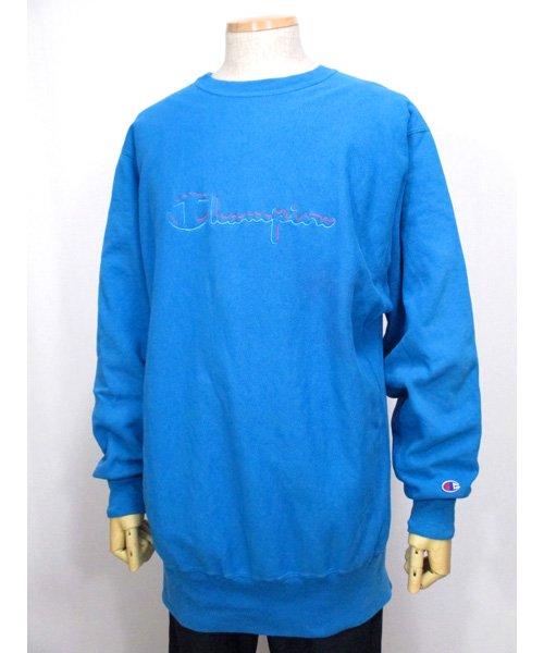 刺繍ロゴChampionリバースウィーブスウェット90年代 USA製 XXLサイズ