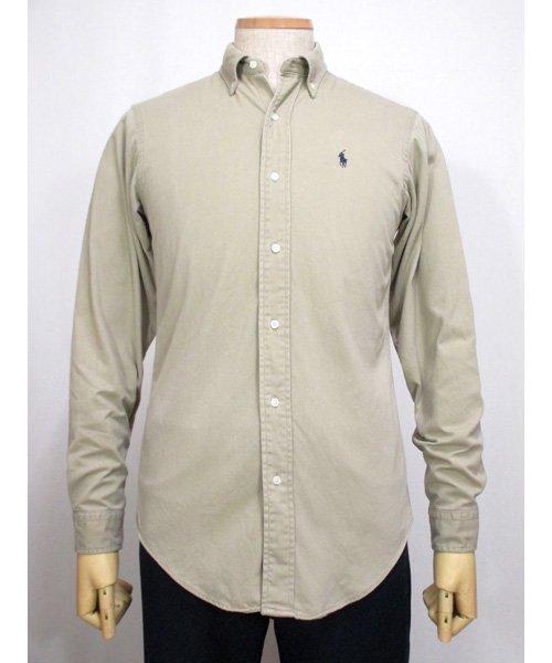 アメリカ製Ralph Laurenボタンダウンシャツ カーキ 90年代