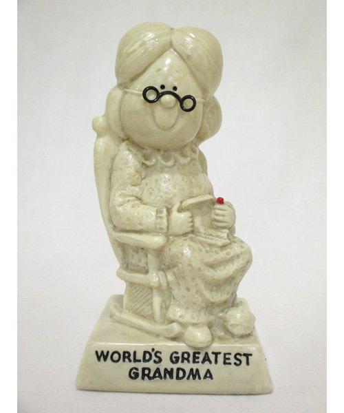 おばあちゃんメッセージドール World's Greatest GRANDMA  70年代
