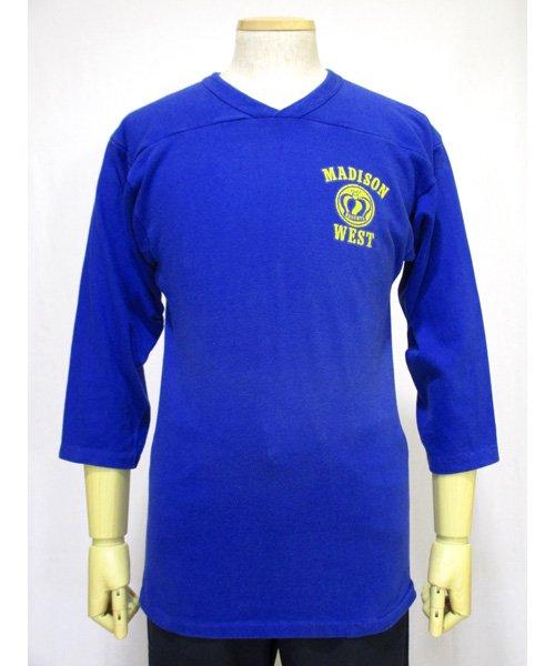RUSSELL ATHLETIC七分袖フットボールTシャツ 70年代アメリカ製