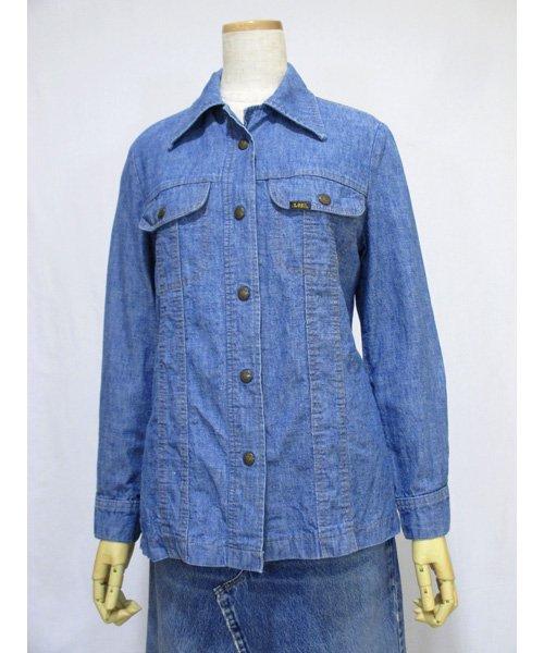 Ms Leeデニムシャツジャケット USA製 70年代