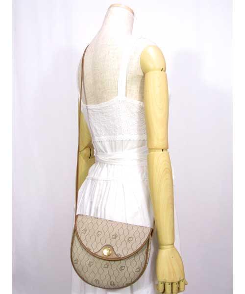 中古 ヴィンテージChristian Diorショルダーバッグ(オールド)70年代クリスチャンディオール