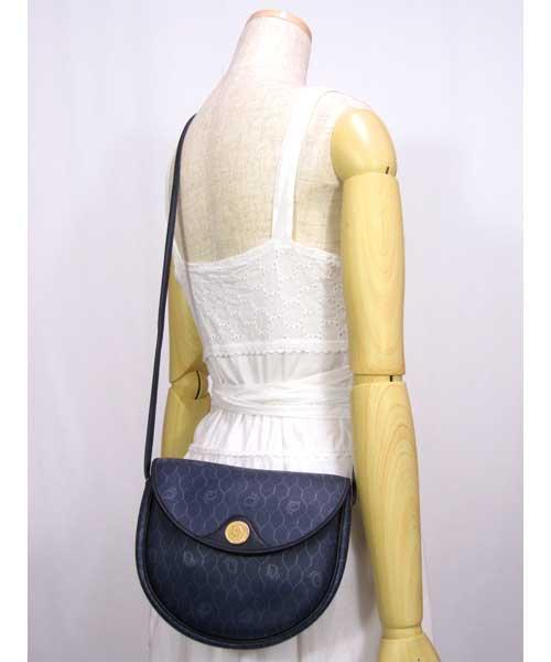 中古 オールドChristian Diorショルダーバッグ(ヴィンテージ)70年代クリスチャンディオール