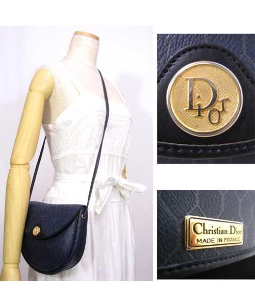 outlet store f930d e03e0 中古 オールドChristian Diorショルダーバッグ(ヴィンテージ)70年代クリスチャンディオール - 古着  通販メンズ・レディースの古着屋Chum