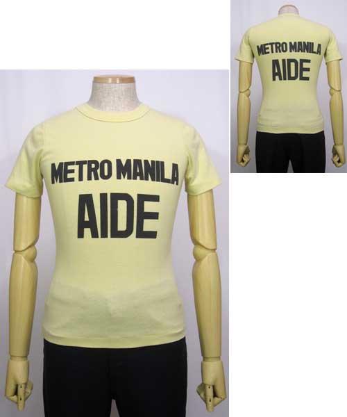 5ab43c8848794 METRO MANILA AIDEプリントTシャツ 80~90年代 - 古着 通販メンズ ...