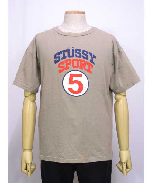 STUSSY SPORTプリントTシャツM USA製
