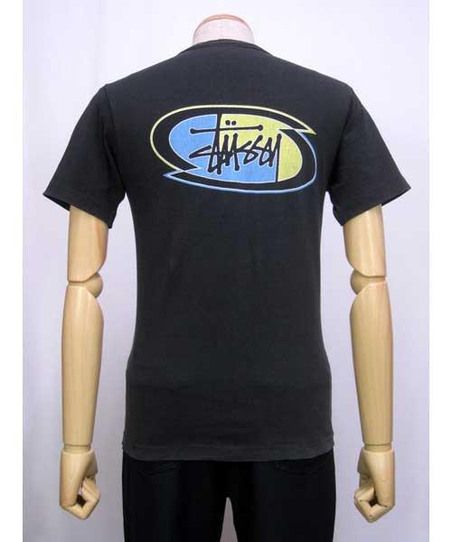 STUSSYプリントTシャツS USA製90's