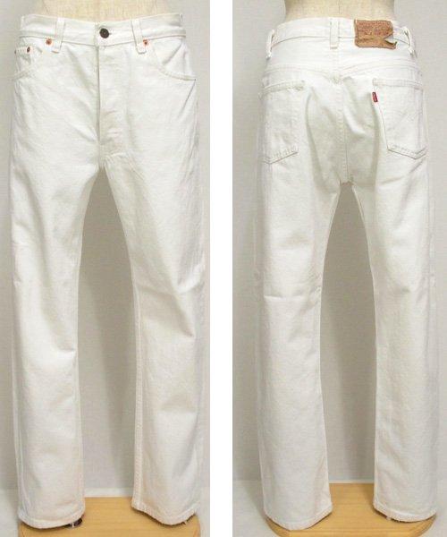 リーバイスLevi's501ホワイトジーンズ W30アメリカ製