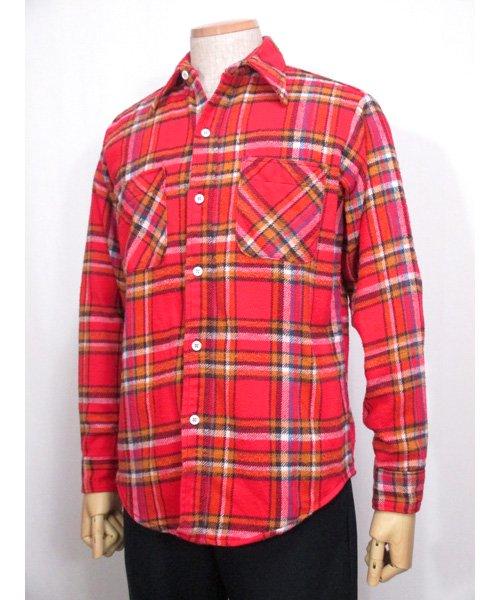 BIG MACヘビーフランネルシャツ70年代 Mサイズ