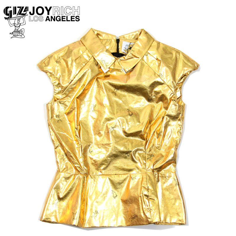 JOYRICH×GIZA(ジョイリッチ)/GOLD ANGEL SHIRT -GOLD-