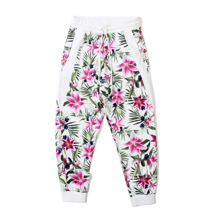 JOYRICH(ジョイリッチ)/OPTICAL GARDEN PANTS  -WHITE-