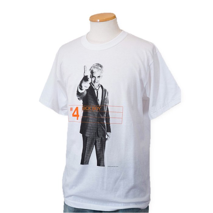 Stylorougeトレインスポッティング復刻Tシャツ#4 SICK BOY