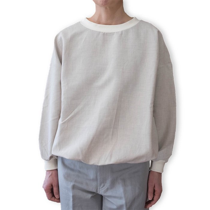 ippei takei  リブシャツ #ecru