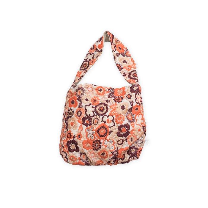 アンティパスト 刺繍バッグ#オレンジ