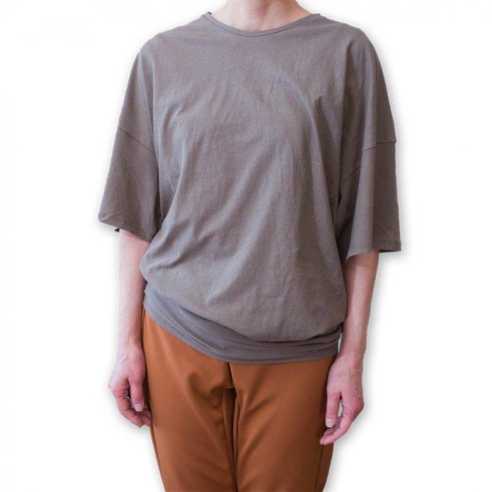 ippei takei [イッペイタケイ] 2ウエイTシャツ #サーフグリーン