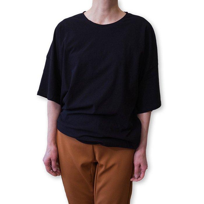 ippei takei [イッペイタケイ] 2ウエイTシャツ #ブラック
