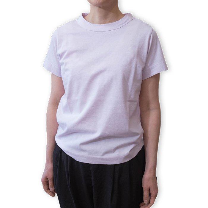 homspun 天竺半袖Tシャツ  #ピンク