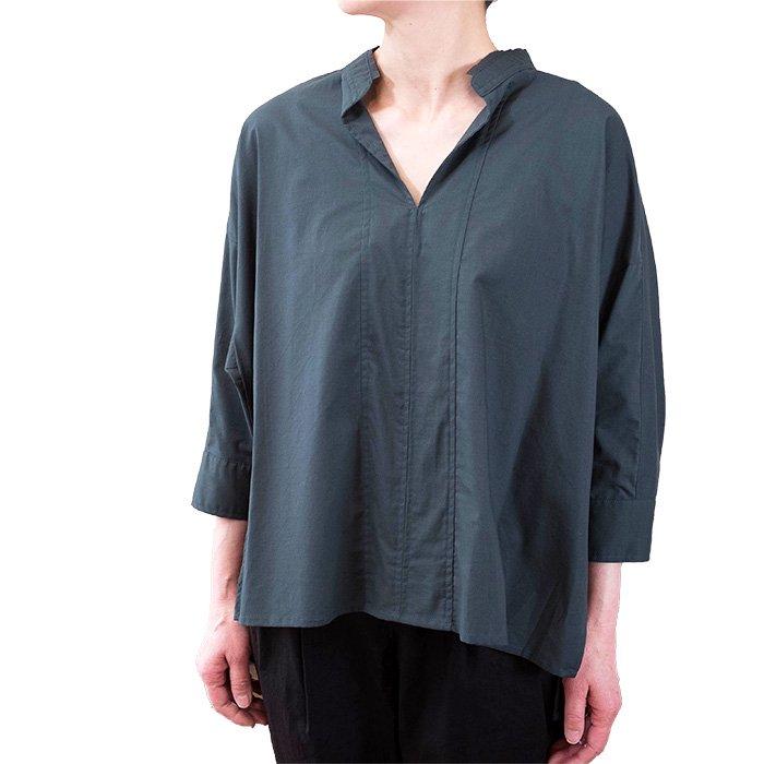 SIWALY | シワリー ショートプルオーバーシャツ (520106) #グリーン