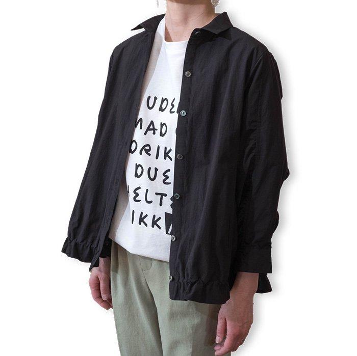 ara・ara[アラアラ]ショートシャツブルゾン#ブラック