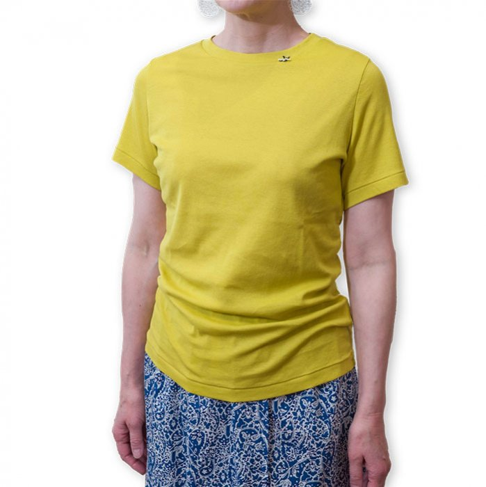 アンティパスト 蜂付きTシャツ  #イエロー