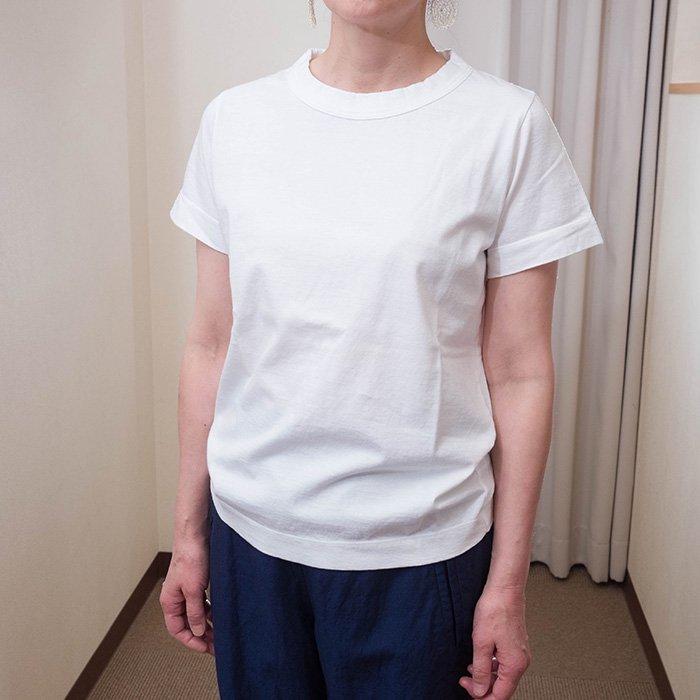 homspun 天竺半袖Tシャツ  # サラシ