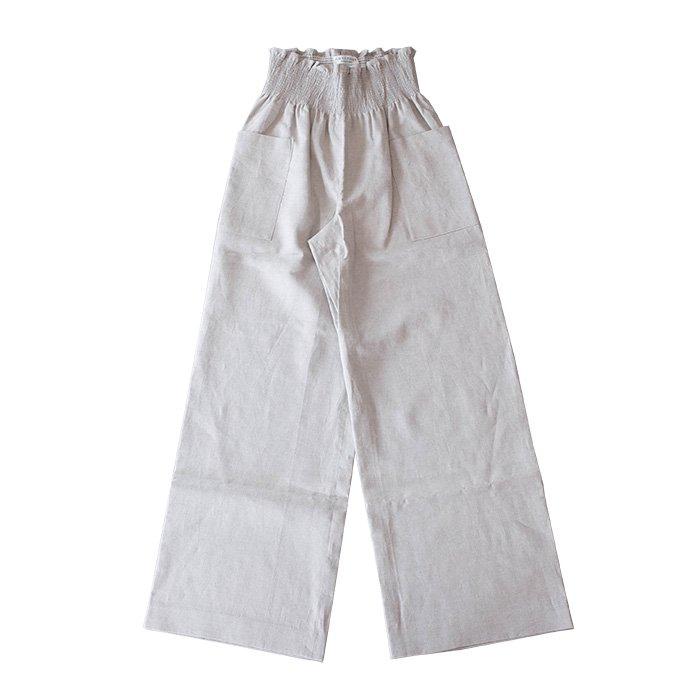 アンティパスト LINEN Woven Pants #ナチュラル