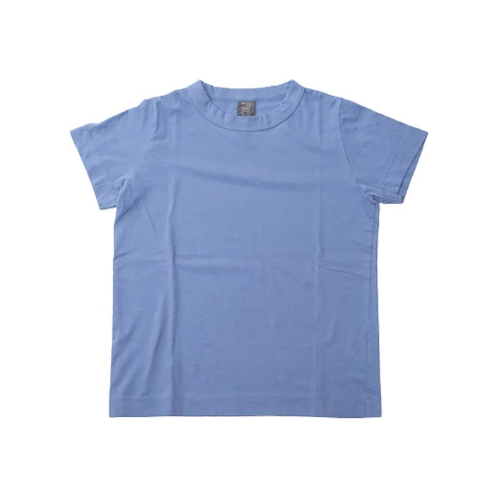 homspun 天竺半袖Tシャツ  #ブルー